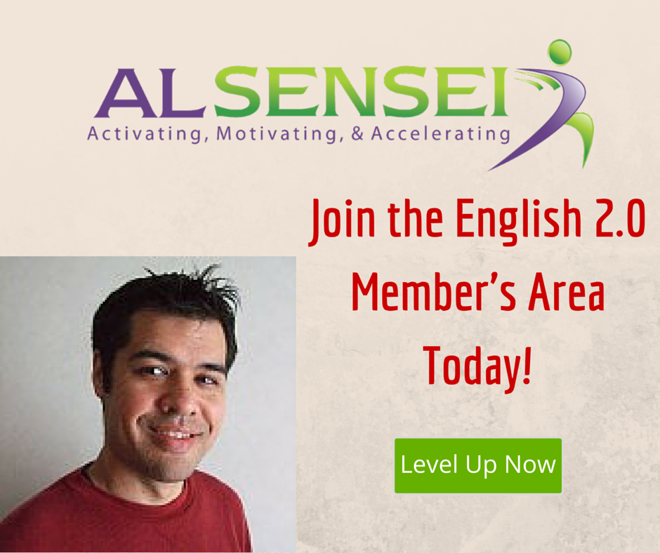 Join the English 2.0 Member's Area Today